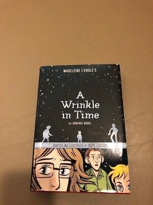 A Wrinkle in Time  The Graphic Novel by Hope Larson and Madeleine LEngle