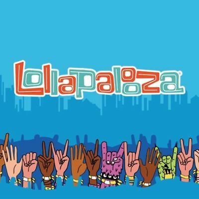 Lollapalooza 4 Day General Admission Ticket - Chicago August 2nd-5th - SOLD OUT