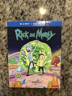 Rick and Morty The Complete First Season Blu-ray Disc 2014 Closed-Captioned