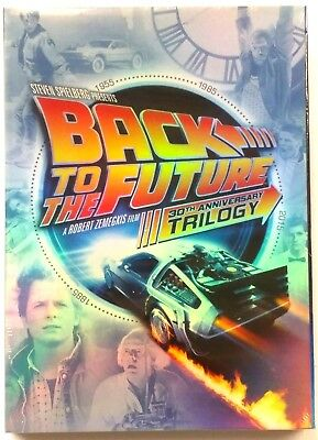 Back to the Future Trilogy 30th Anniversary Edition DVD 2015 5-Disc Set NEW