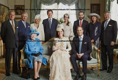 KATE MIDDLETON PHOTO 4X6 Prince William George Harry Queen Elizabeth Free Ship