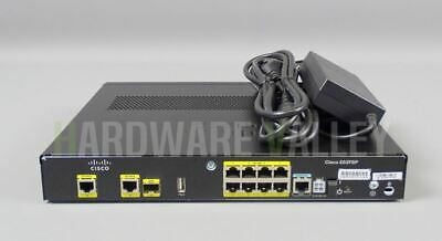 CISCO C892FSP-K9 Cisco 892FSP 1 GE and 1GE/SFP High Perf Security Router
