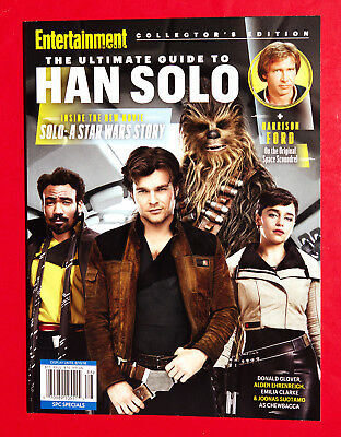 Entertainment Weekly Magazine 2018 Ultimate Guide to HAN SOLO A STAR WARS STORY