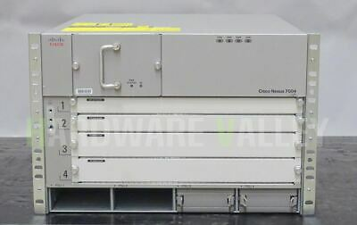 CISCO N7K-C7004 4 Slot Chassis, No Power Supply, Includes Fans
