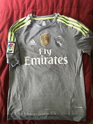 Ronaldo Real Madrid 20152016 Away Jersey plus Club World Cup Champions Patch