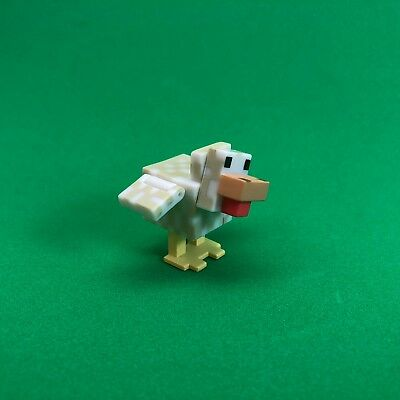 Minecraft CHICKEN Animal Jazwares Series 2 Loose Overworld Box Toy Figure