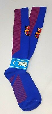 TOP QUALITY ADULT FC BARCELONA SOCCER SOCKS Dri Fit Futbol Spanish Spain NEW