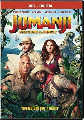 Jumanji Welcome to the Jungle DVD - SHIPS IN 1 BUSINESS DAY WITH TRACKING