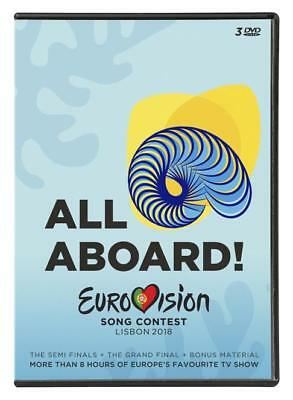 Netta Various Artists - Eurovision Song Contest Lisbon 2018 3DVD DVD SET-