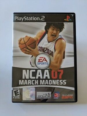 NCAA March Madness 07 Sony PlayStation 2 2007 - Complete