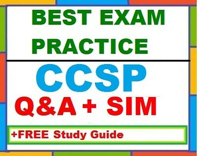 ISC Certified Cloud Security Professional CCSP Practice Exam Q-A-SIM -FREE Guide