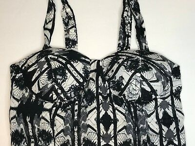Wet Seal Bustier Womens Top Size Small Boho Pre owned