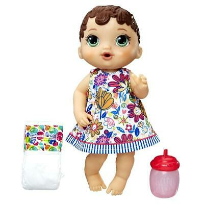 Baby Alive Lil Sips Baby - Brown Sculpted Hair