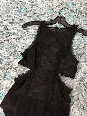 Zara Lace Bodysuit Size Small