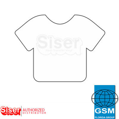 SISER HTV EasyWeed Heat Transfer Vinyl 12 x 5 yards WHITE