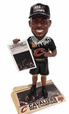 Cleveland Cavaliers 2016 NBA Champions LeBron James Newspaper Bobblehead Bobble