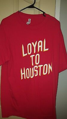 NEW NBA Houston Rockets Shirt Large