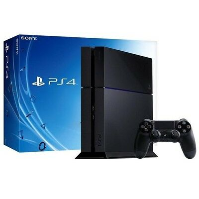 PlayStation 4 Console 500 GB with Hyper x cloud revolver headset