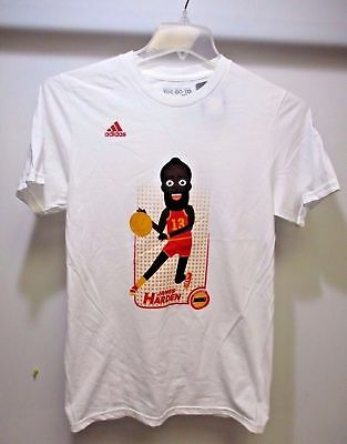 ADIDAS NEW W TAGS MENS HOUSTON ROCKETS JAMES HARDEN ADICON DUNK TSHIRT LRG