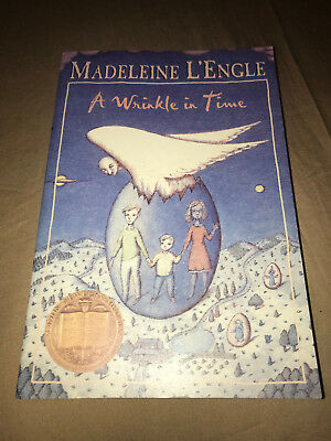 Time Quartet A Wrinkle in Time by Madeleine LEngle Paperback Classic Book