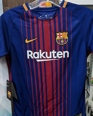 fc barcelona jersey 20172018 Youth Size Large