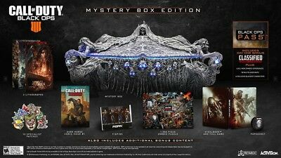 Call Of Duty Black Ops 4 - Mystery Collectors Box Edition - PC DAY 1 Shipping