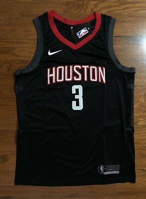 BRAND NEW Chris Paul 3 Houston Rockets Statement Swingman Jersey Size L