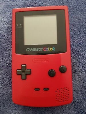 Nintendo Game Boy Color Berry Handheld System