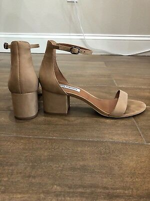Steve Madden Tan Irenee Heeled Sandals 7-5