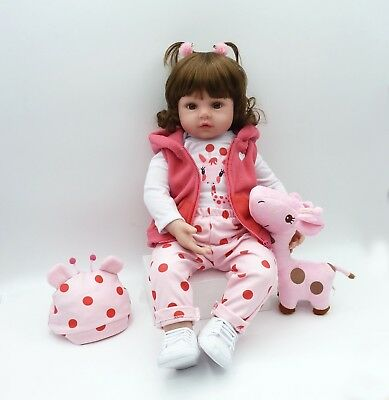 Reborn Toddler Doll 1845cm Realistic Handmade Lifelike Girl Presents Xmas Gift