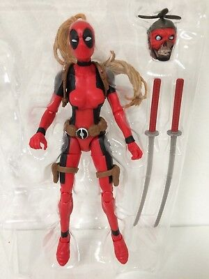 IN STOCK NEW Marvel Legends Wave 2 Lady Deadpool - HEADPOOL NO SAURON BAF
