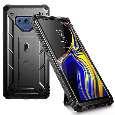 For Samsung Galaxy Note 9 Case Poetic Full Cover with Screen Protector Black