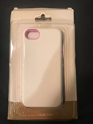 Sonix Inlay Case for Apple iPhone 5C - WhitePink