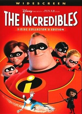 THE INCREDIBLES DVD 2 Disc Collectors Edition - WIDESCREEN NEW