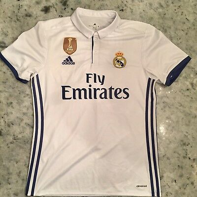 Adidas Real Madrid Climacool Home Cristiano Ronaldo Jersey Size M