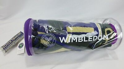 Wimbledon Mens Championship Towel 2017 brand New in bag with tags FREE shipping