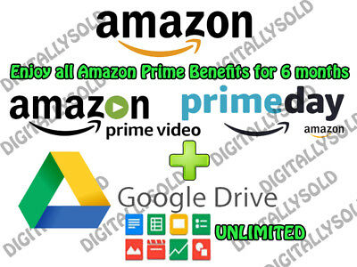 EDU Email Address ✔ FREE 6 Months Amazon Prime - Unlimited GDR1VE - MORE