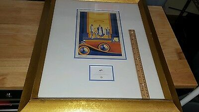 NUMBERED PRINT THE GATSBY CLUB AT WIMBLEDON ALL ENGLAND LAWN TENNIS CLUB 1998