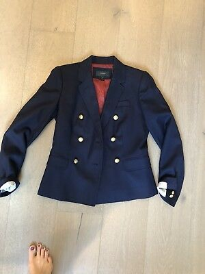 j crew wool blazer jacket navy With Gold Buttons Similar to KATE MIDDLETON