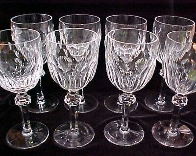 WATERFORD CRYSTAL CURRAGHMORE 7-5 WATER WINE GOBLET GLASS 17 AVAIL EXCELLENT