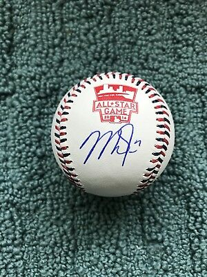 Mike Trout Signed Autographed 2014 All-Star Game Baseball COA