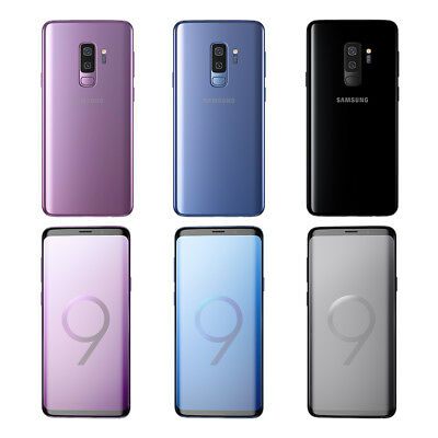 Samsung Galaxy S9 Plus SM-G965 64GB OEM GSM Unlocked Clean ESN 4 Color OEM NEW