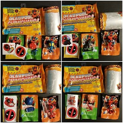 Deadpool Chimichanga Surprise Mystery Figures from Hasbro You Coose 1