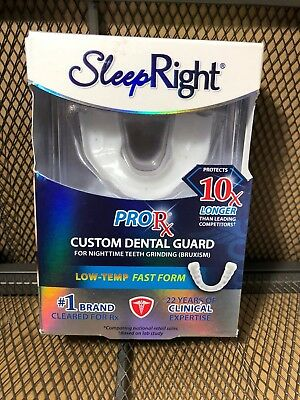 Sleep Right ProRx Dental Guard Protects 10x Longer Low-temp Fast Forming 5193
