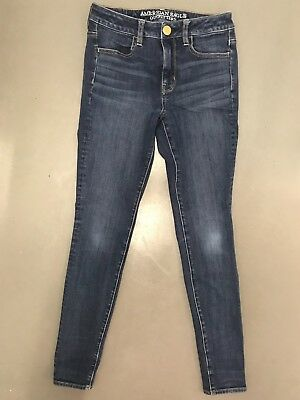 American Eagle Outfitters Sz 2 R Super Stretch Jeggings Jeans Pants Aerie Denim
