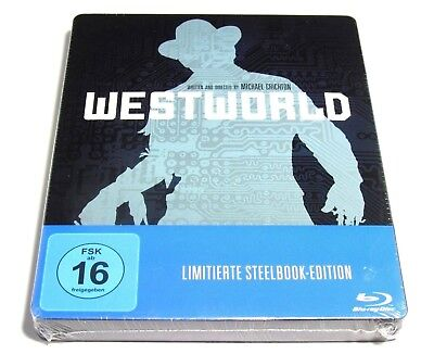 WESTWORLD MOVIE STEELBOOK BLU-RAY LIMITED EDITION BRAND NEW REGION FREE