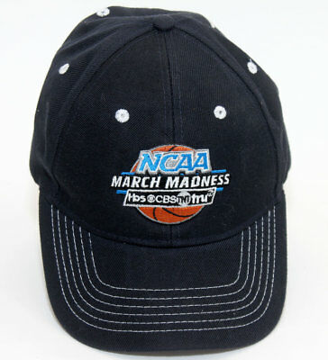 NCAA March Madness College Basketball Hat Cap Adjustable Promo CBS TBS TNT
