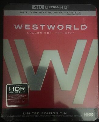Westworld Season 1 4K Ultra HD- Blu-ray- Limited Edition Tin