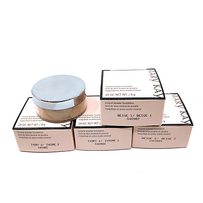 Mary Kay Mineral Powder Foundation Ivory1-Ivory2-Beige1-Beige2 You Choose Shade