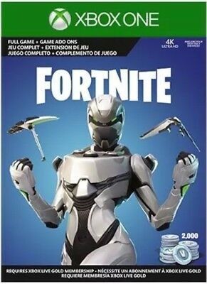 Fortnite Xbox One Econ Cosmetic Set Skin-2000 V-Bucks Only No Console